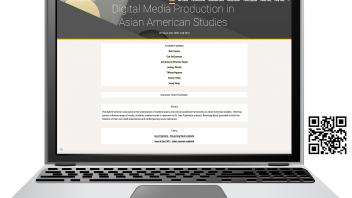 """Student Works: Digital Media Production in ASA"" website"